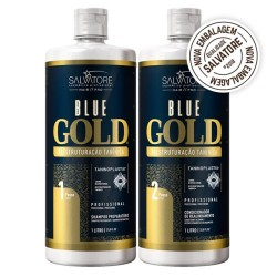 Salvatore Blue Gold Progressive Brush System Set 2x1L.